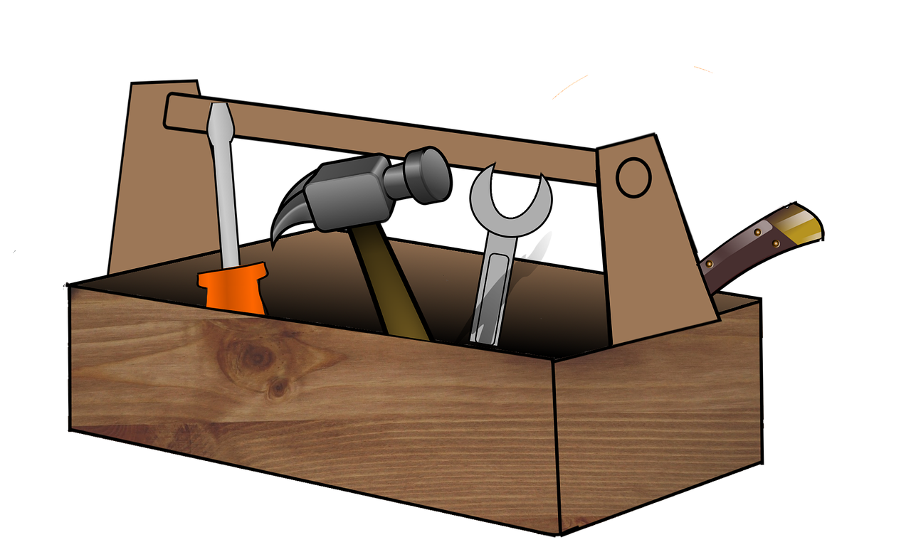 Werkzeugkasten für Referenten